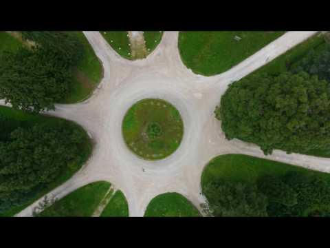 vue aérienne du Loiret