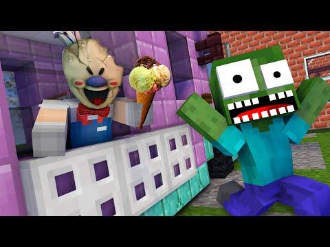 Monster School : EPIC ICE SCREAM CHALLENGE - Minecraft Animation