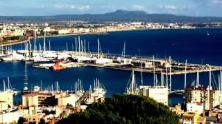 Город Пальма-де-Майорка - красивый вид на город с высоты птичьего полета(Пальма-де-Майорка в ноябре.Этот ролик обработан в Видеоредакторе YouTube (http://www.youtube.com/editor), 2016-11-19T00:06:33.000Z)