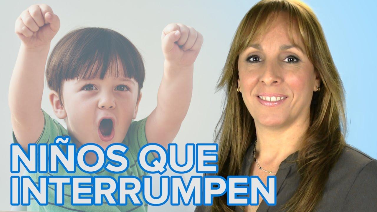 Cómo enseñar a los niños a no interrumpir constantemente | Escuela de Padres