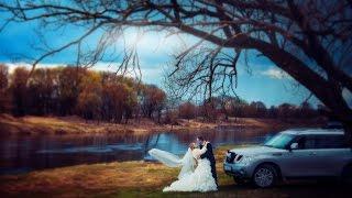 Очень красивый и необычный свадебный клип.