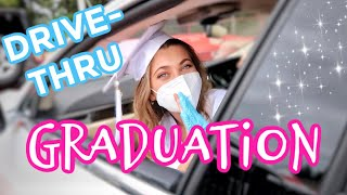 MY DRIVE-THRU GRADUATION *EMOTIONAL* VLOG ft. Avani | Amelie Zilber YouTube Videos