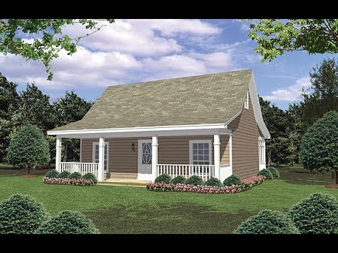Cottage House Plan 59098 at FamilyHomePlans com   YouTube Cottage House Plan 59098 at FamilyHomePlans com