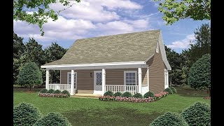 Cottage House Plan 59098 at FamilyHomePlans.com