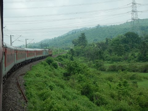 Ranchi Rajdhani Express: High Speed Full Journey Compilation