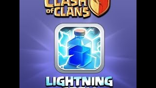Clash of Clans - Lightning strike and Giants make clean air