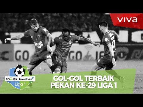 Gol-gol keren Pekan ke-29 Liga 1: Gol Stefano Lilipaly Bikin Melongo!
