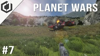 Space Engineers | Planet Wars - Ep 7 | Aftermath!