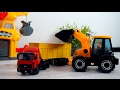 Toys Tractor - Tractor videos for children - Videos for kids - Trucks