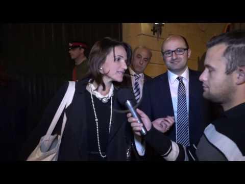Michelle Muscat titlaq mInn Villa Francia
