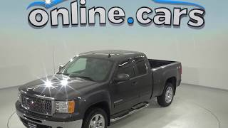C98595JA Used 2011 GMC Sierra 1500 SLE 4WD Gray Test Drive, Review, For Sale
