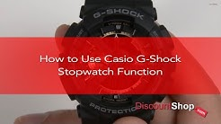 HOW TO: Set the Stopwatch on Casio G-Shock Watches