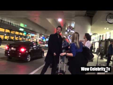 Keanu reeves arrives