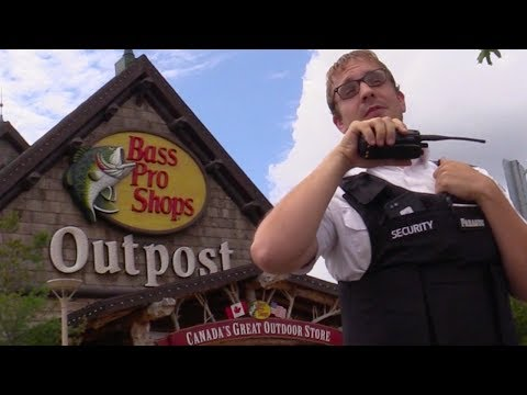 Fishing At Bass Pro Shops Prank! (THEY CAUGHT US)