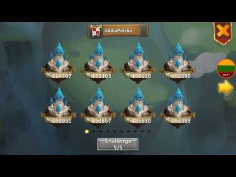 Easy Guild Wars Attacks 11/07/2016 Castle Clash Lithuania