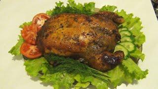 Идеальная запеченная курица без костей