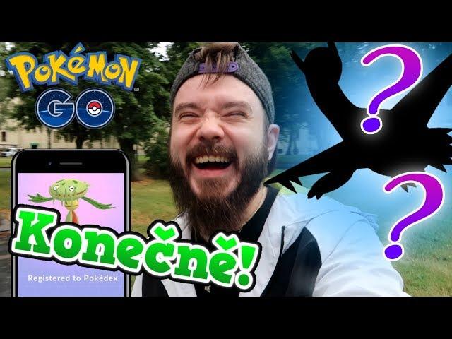 Nový americký Pokémon a nová Legenda!   Pokemon GO s Prajou