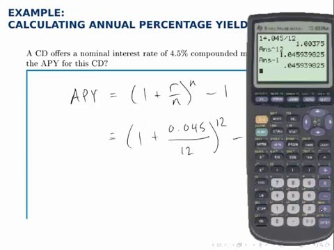 how to solve for p in yield