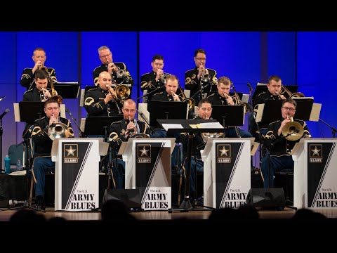 The U.S. Army Blues International Jazz Month with Solo Competition Winners