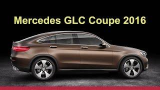 Mercedes GLC Coupe 2016 - preView Александра Михельсона
