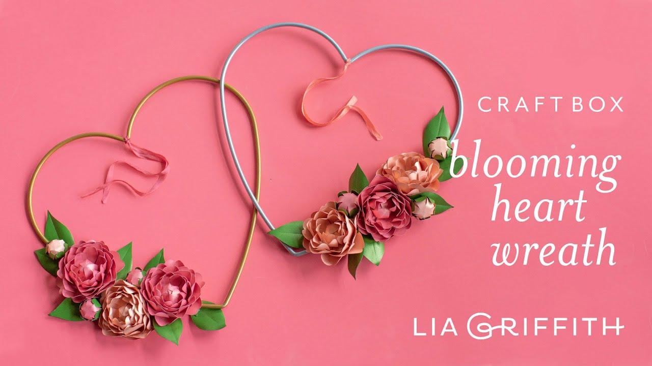 Blooming Heart Wreath Craft Box