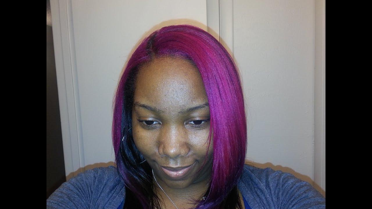 coloring natural hair
