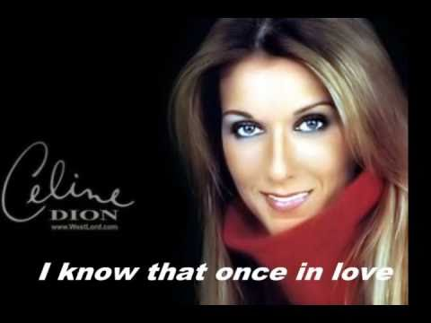 Eyes On Me Lyrics - Celine Dion - musicinlyrics.com