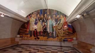 """Станция метро """"Парк Победы"""", обзор двух станций"""