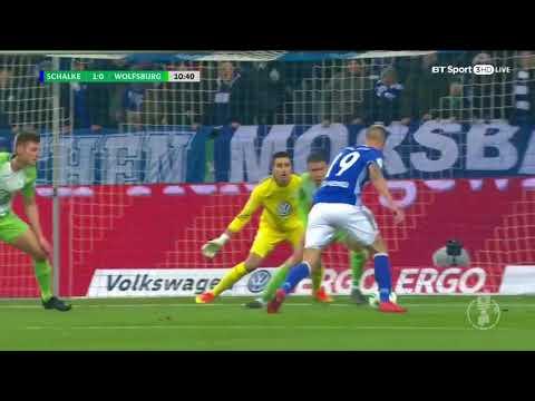 Schalke 1-0 Wolfsburg | DFB Pokal Highlights⚽