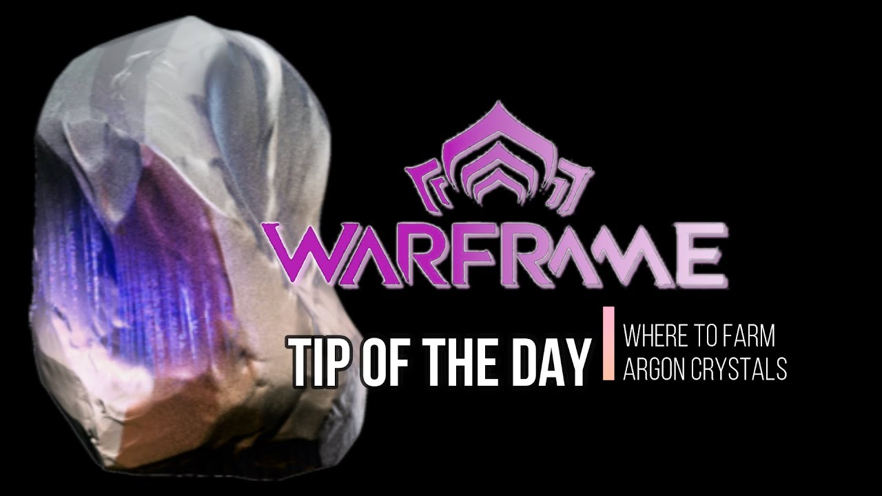 warframe argon crystal drop rate