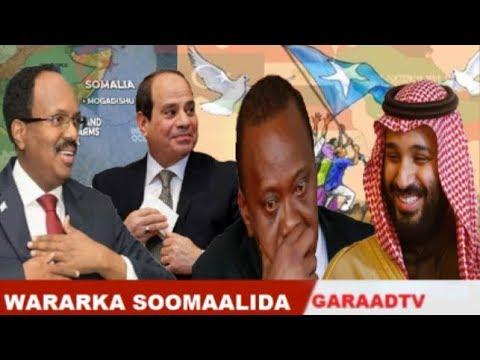 Warar Deg Deg Ah Dalalka Carabta Oo U Hanjabay Kenya, Guusha Somalia, Jawabta Xaaf