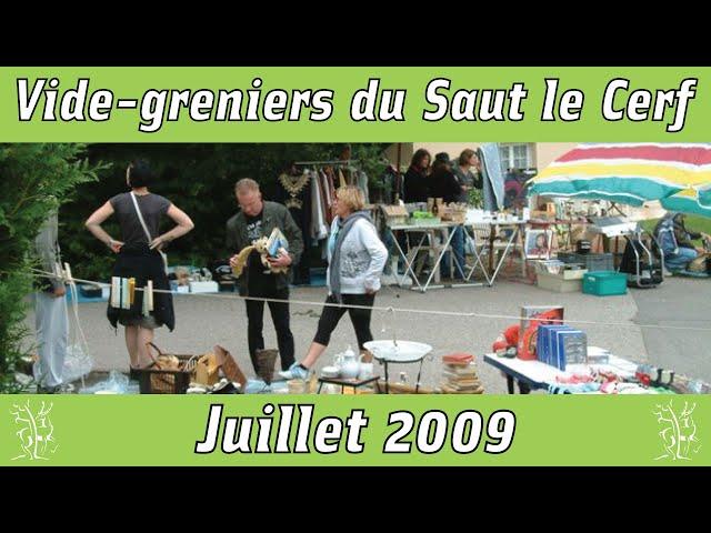 Vide-greniers Saut le Cerf 2009