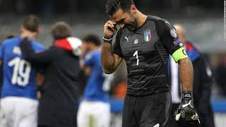 Italy Miss Out On World Cup Spot For First Time In Over Half A Century
