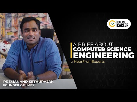 A brief about Computer Science Engineering |Tamil | PickMyCareer