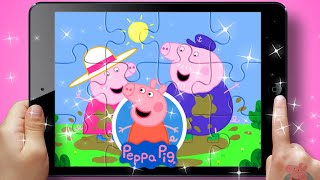 Peppa Pig Puzzle Game For Kids