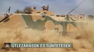 Útlezárások és tüntetések a török elnök érkezése miatt 19-11-07