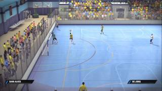 Fifa Street: Brazil Vs. Netherlands Gameplay [HD] Xbox360/PS3
