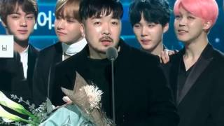 all cut bts at gaon chart kpop awards 2017 part 1 2