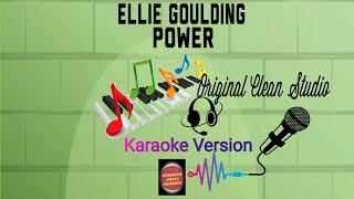 Ellie Goulding - Power Karaoke | Clean Audio