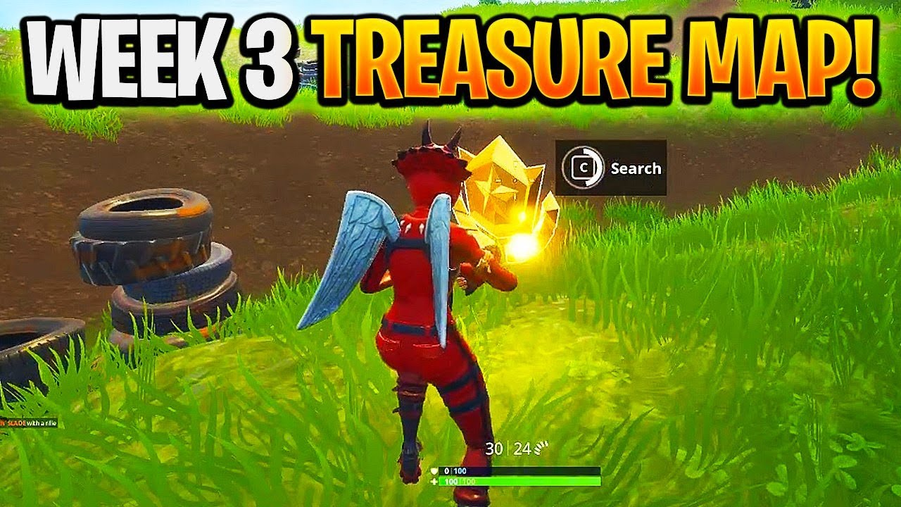 how to find the treasure map in salty spring