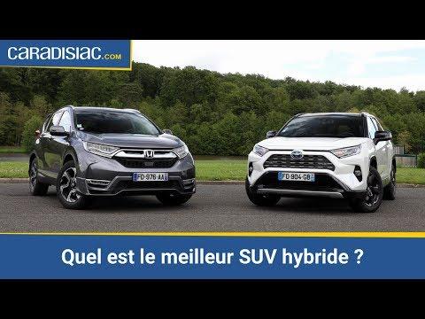 Le Meilleur Suv >> Honda Cr V 2 0 I Mmd Vs Toyota Rav4 Hybrid Quel Est Le Meilleur Suv Hybride
