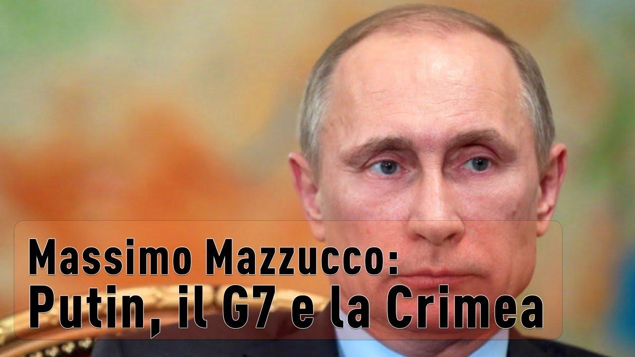 Massimo Mazzucco: Putin, il G7 e la Crimea