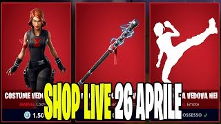 NETWORK SERVER FORTNITE ITA LIVE SHOP 26 APRIL 2019 - A 50 ABBONATI REGALO SKIN 49/50!