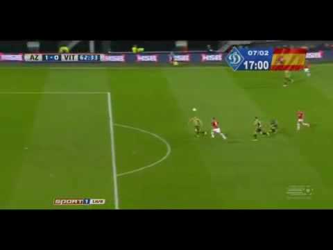 Vincent Janssen Great goal against valencia / welcome to tottenham