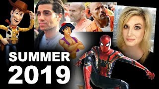 Summer Movies 2019 - Avengers 4, Aladdin, Hobbs & Shaw, Toy Story 4