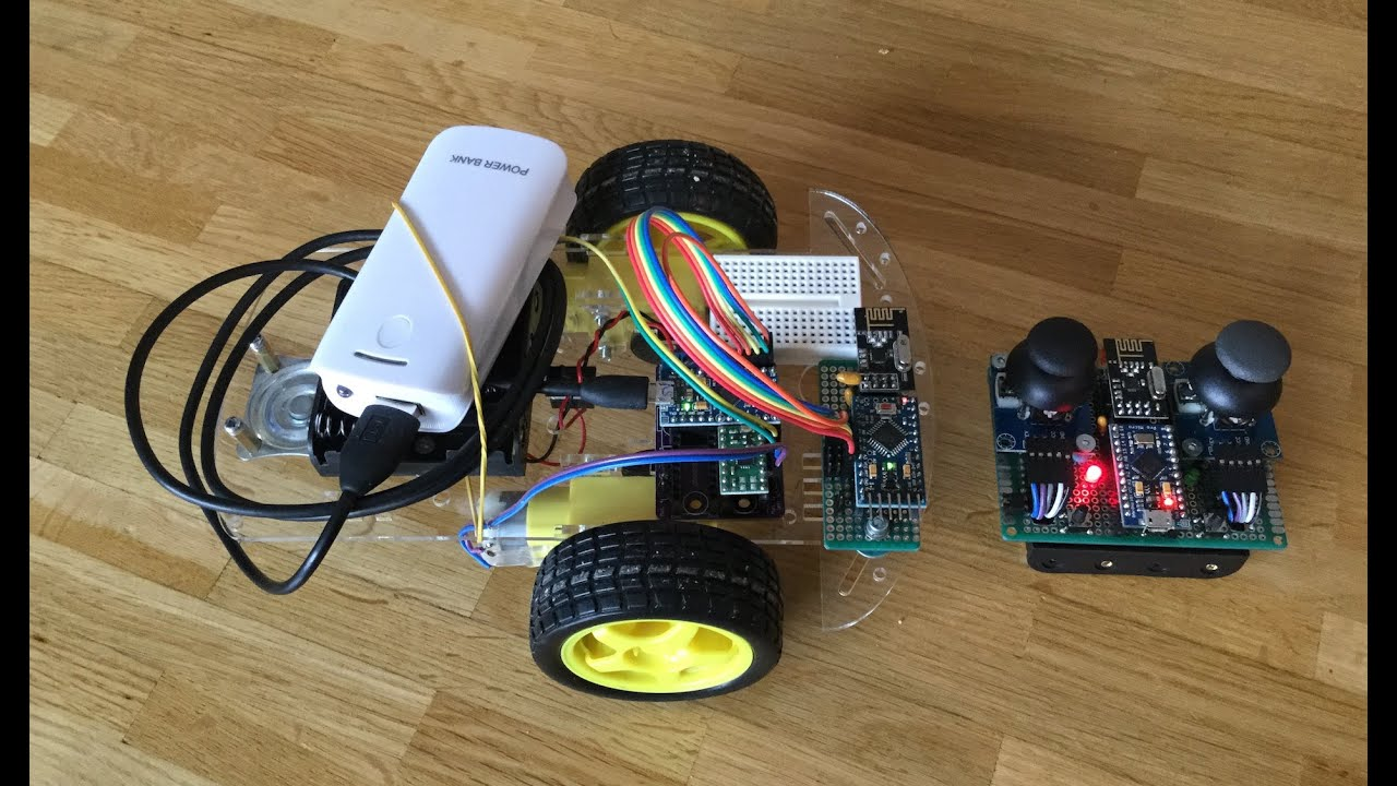 Arduino RC rover and 4 channel 2 4GHz receiver