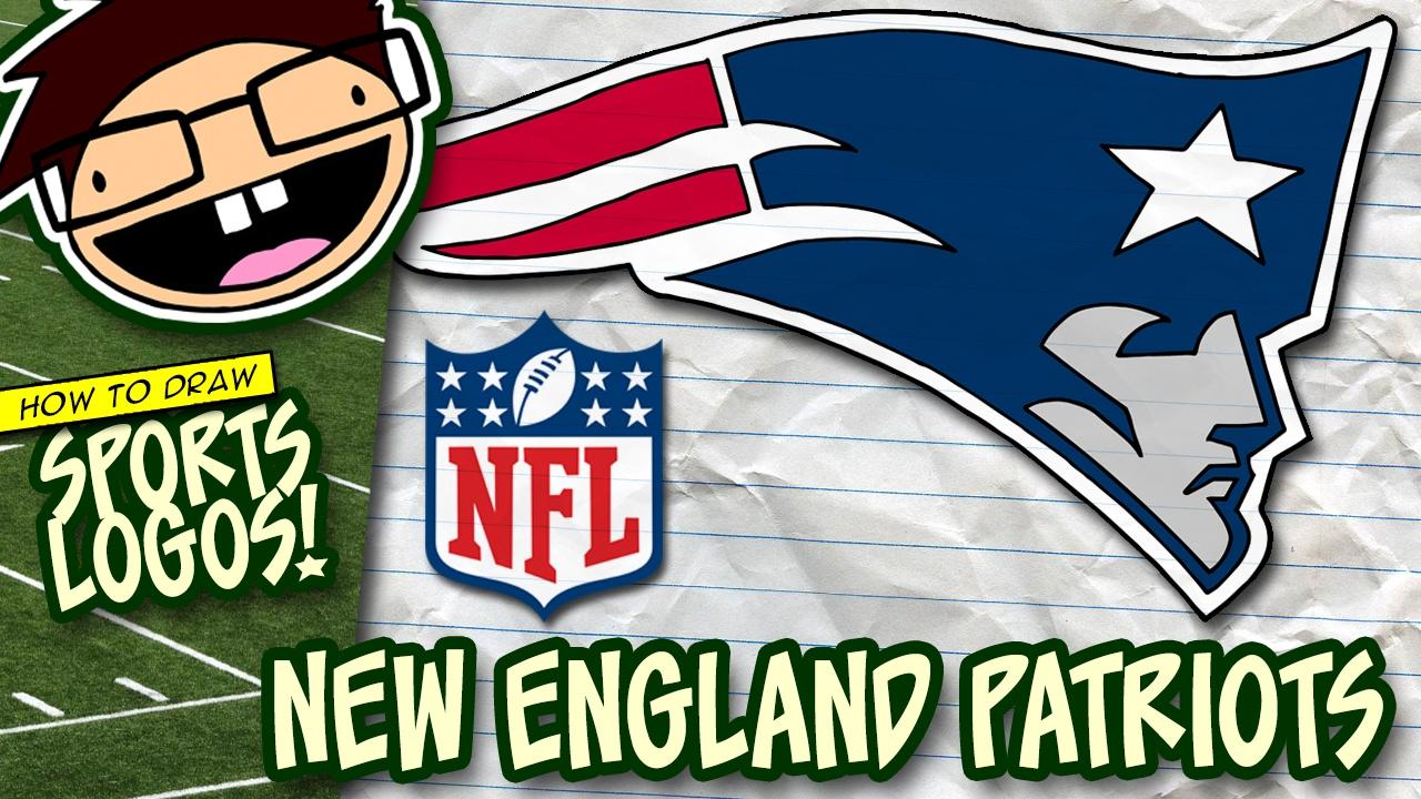 How To Draw New England Patriots Logo Nfl National Football League