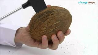 Как расколоть кокос.