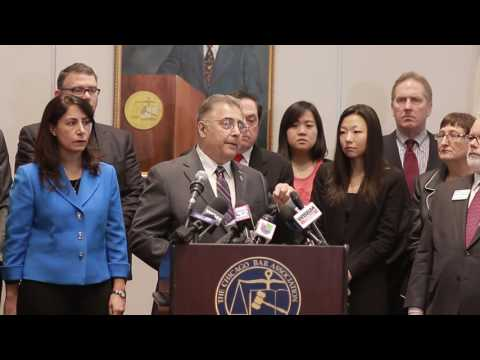 CBA Co-Hosts Press Conference with Area Bar Associations