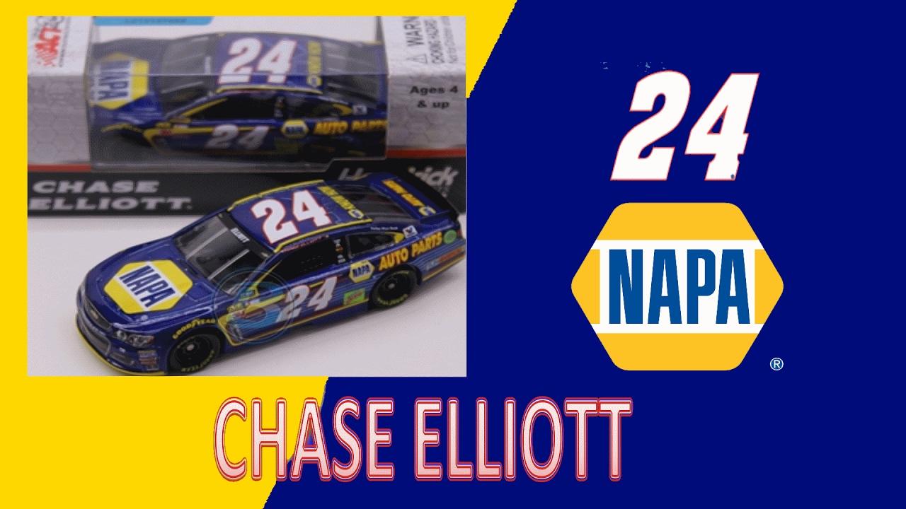 NASCAR 2017 CHASE ELLIOTT # 24 NAPA AUTO PARTS 1//64 CAR